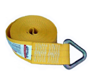 "4"" Winch Strap w/D ring"